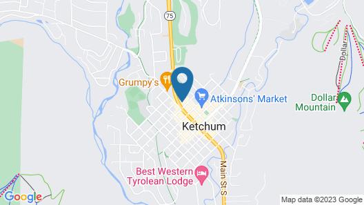 Hotel Ketchum Map