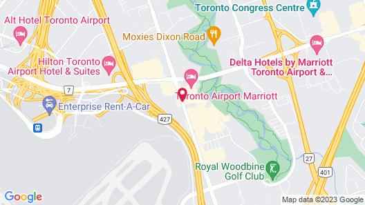 Hotel Carlingview Toronto Airport Map