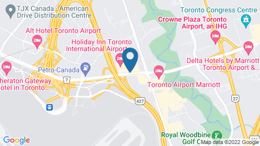 The Westin Toronto Airport Map