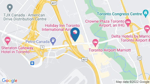 Holiday Inn Toronto - Int'l Airport Map