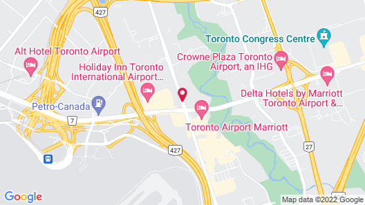 Embassy Suites by Hilton Toronto Airport Map