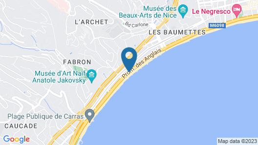 Aparthotel Adagio Nice Promenade des Anglais Map