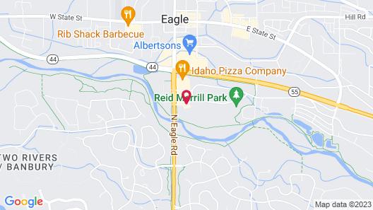Hilton Garden Inn Boise/Eagle Map