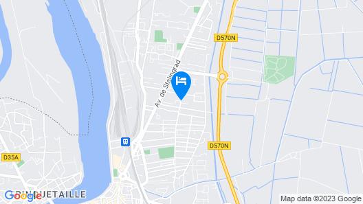 Hôtel Le Rodin Map