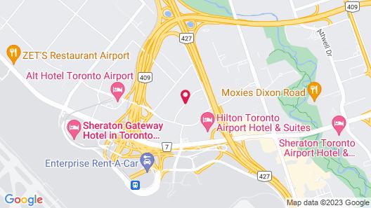 Hilton Garden Inn Toronto Airport Map