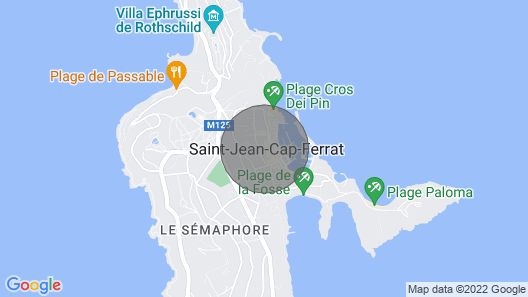 CAP Ferrat View Ap4162 by Riviera Holiday Homes Map