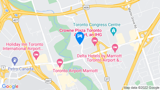 Residence Inn by Marriott Toronto Airport Map