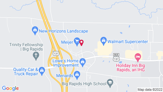 Country Inn & Suites by Radisson, Big Rapids, MI Map