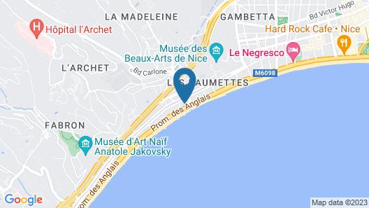 Hôtel Magnan Map