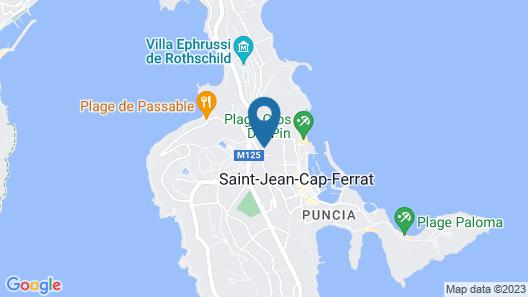 Boutique Hôtel & Spa la Villa Cap Ferrat Map
