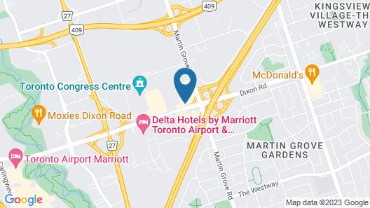 Holiday Inn Toronto Airport East, an IHG Hotel Map