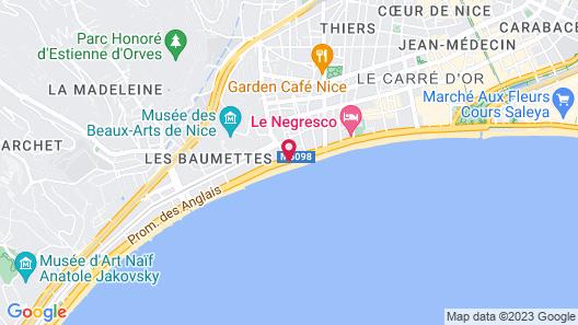 AC Hotel by Marriott Nice Map