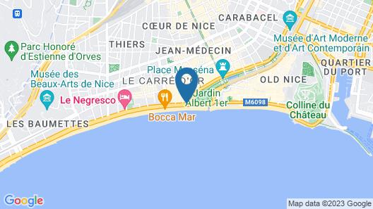 Le Meridien Nice Map