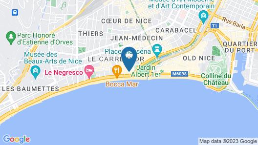 Mercure Nice Promenade Des Anglais Map