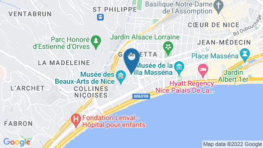 Villa Amour VI4153 by Riviera Holiday Homes Map