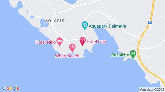 Amadria Park Hotel Andrija Map