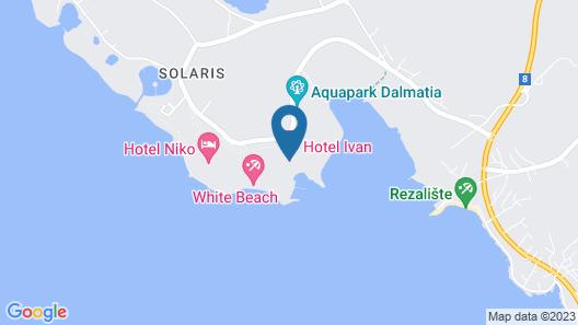 Amadria Park Hotel Jure Map