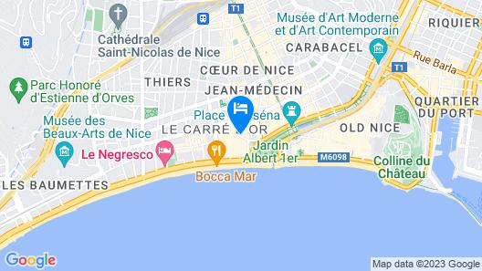 Hôtel de Suède Map