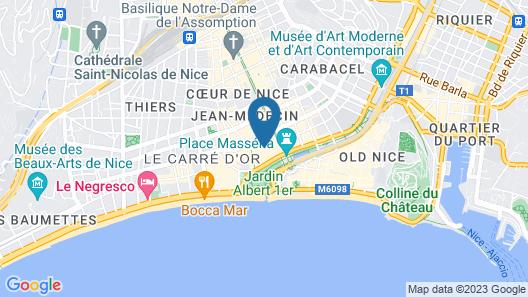 Apart'hotel Ajoupa Map
