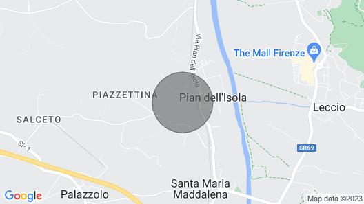 Residence Villa Il Palagio, Rignano Sull' Arno Map