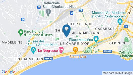 La Malmaison, Ascend Hotel Collection Map
