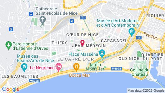 Holiday Inn Nice Map