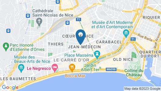 Boscolo Nice Hôtel & Spa Map