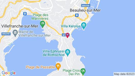 Hôtel Vacances Bleues Delcloy Map