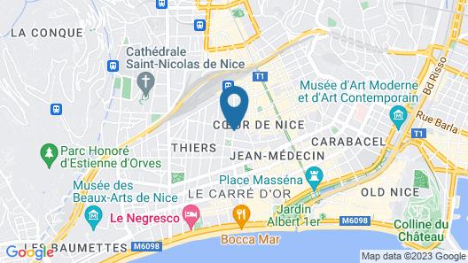 Ibis Styles Nice Centre Gare Map