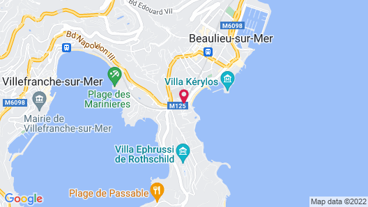 Hotel Royal Riviera Map