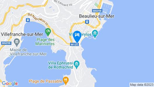 Hotel Royal Riviera Map