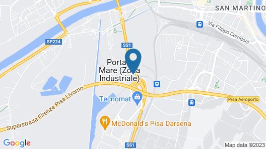 Hotel Galilei Map