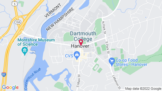 Hanover Inn Dartmouth Map