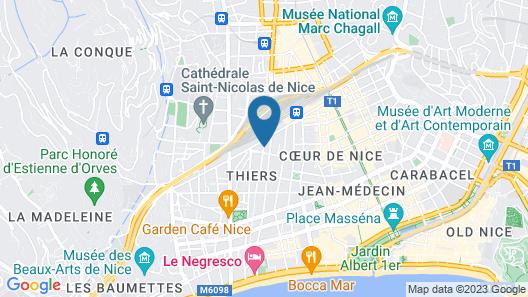 Villa Otero by Happyculture Map