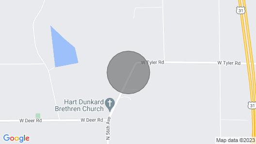 Silver Lake Vacation Get Away Map