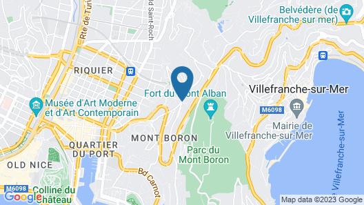 Villa 12 Map