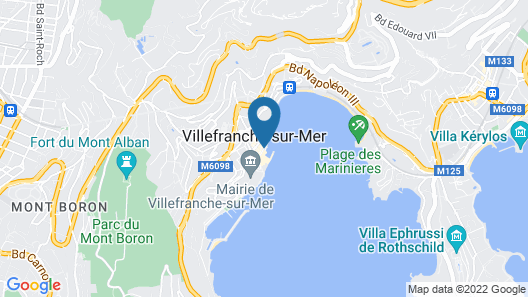 Welcome Hôtel Map