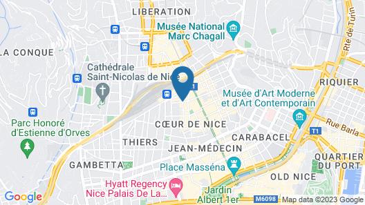 Saint Gothard Nice Map