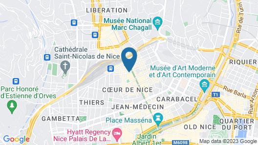 Hotel Ostende Map