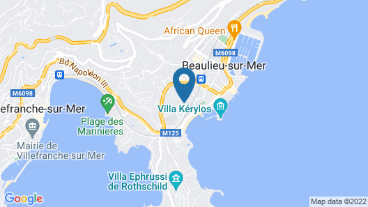 Hôtel Carlton Map