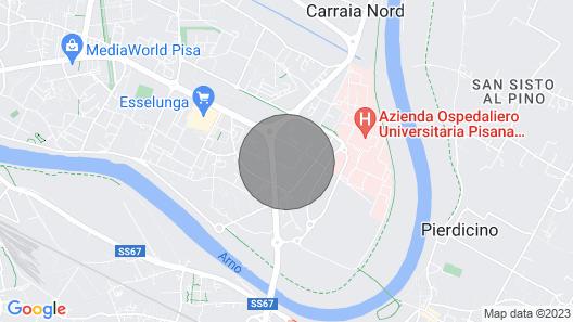 Minisuite Pisa è un Appartamento a due Passi Dall' Ospedale Cisanello di Pisa Map