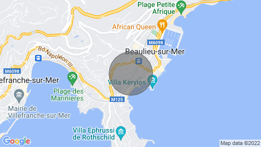 Details French Riviera Apartment for 4/5 People 2 Bedrooms Map