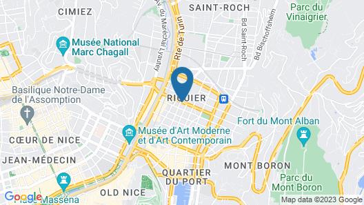 Aparthotel Adagio Nice Centre Map