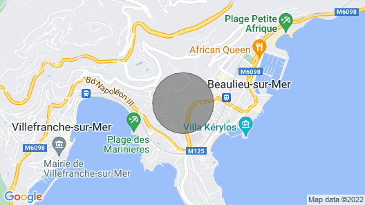 Quiet 2 Room Apartment in Nice Villa With Idyllic View Map