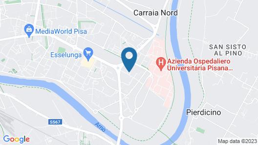 Appartamenti Cisanello Map