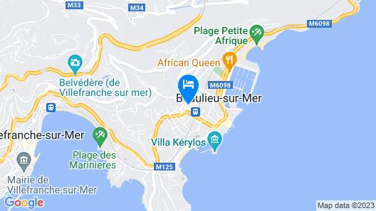 Hôtel Select Map