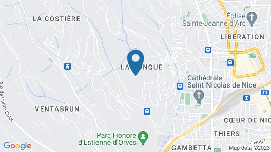 La Corniche d'Argent VI4136 by Riviera Holiday Homes Map