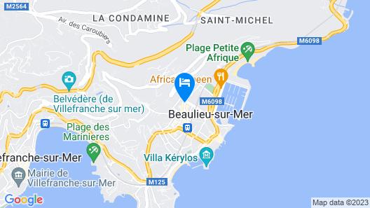 Hôtel Comté de Nice Map