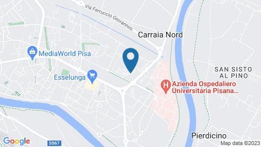 Casa Ugolino - Cisanello Pisa Map
