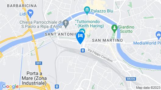 Hotel Milano Map